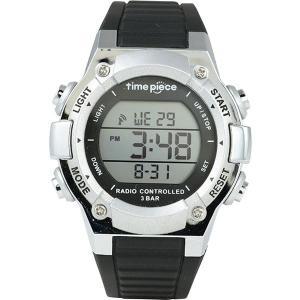 メンズ(男性) | Time Piece(タイムピース) 腕時計 電波時計 デジタル シルバー TPW003SV|arinkurin