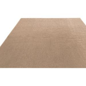 ラグマット | フリーカットができる 抗菌 防臭 防炎カーペット 絨毯  江戸間 2畳 176×176cm アイボリー  洗える 日本製 『ウェルバ』 九装|arinkurin