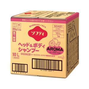 花王 ソフティヘッド&ボディ アロマ10L|arinkurin