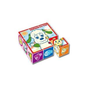 おもちゃ | アポロ社 13106 ワンワンとうーたんとおともだちキューブパズル9コマ (知育玩具)|arinkurin