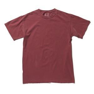 半袖Tシャツ | (訳あり・在庫処分) 50回ウォツシュ加工ガーメント後染め6.2オンスヘビーウェイトTシャツ クリムゾン XL|arinkurin