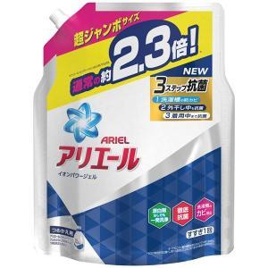 洗濯洗剤 | P&G アリエールイオンパワージェルサイエンスプラスつめかえ用超ジャンボサイズ (×3...