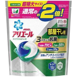 洗濯洗剤   P&G アリエールジェルボール アリエールリビングドライジェルボール3Dつめかえ用特大...