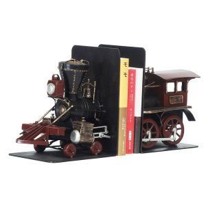 輸入雑貨 | ブリキのおもちゃ 置き物 (ブックスタンド02) 材質:鉄 (インテリアグッズ ディスプレイ雑貨)|arinkurin