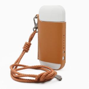 SLG Design Calf Skin Leather iQOS Case タン|arinkurin