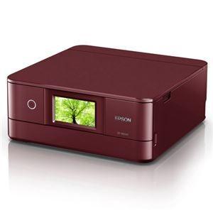 プリンター | エプソン A4インクジェットプリンターカラリオ多機能6色有線・無線LANWiFiDirect両面4.3型ワイドタッチパネルレッド|arinkurin