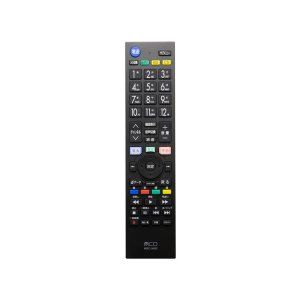 (まとめ) ミヨシ TV用リモコン シャープ対応 MRCSH01 (×2) arinkurin