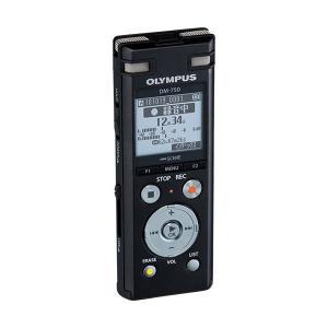 ICレコーダー | オリンパス ICレコーダーVoiceTrek 4GB ブラック DM750 BLK 1台|arinkurin