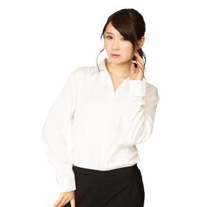 シャツ | 機能性ビジネスシャツ スキッパー S 白|arinkurin