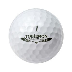 ゴルフボール | 6個セット TOBIEMON 超高性能3ピース PREMIUM3 プレミアムホワイト ダース TB3DWX6|arinkurin