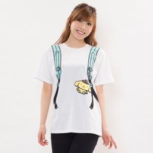 レディースTシャツ | SAZAC(サザック) プリン型リュックスリーパー ホワイト ML|arinkurin
