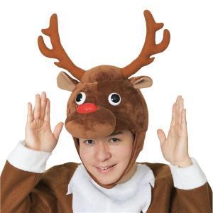 トナカイ | (クリスマスコスプレ/コスプレ衣装) XM コミカルトナカイかぶりもの|arinkurin