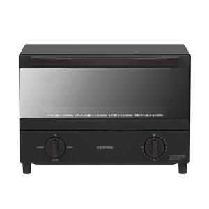 アイリスオーヤマ スチームオーブントースター 2枚焼き ブラック KSOT011B|arinkurin