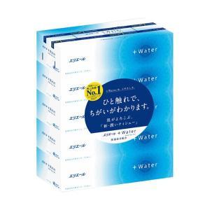 ティッシュペーパー | 大王製紙 エリエール+Water180組/箱 1パック(5箱)(×10)|arinkurin