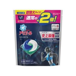 洗濯洗剤 |  アリエール ジェルボール3D プラチナスポーツ 詰替え 超特大サイズ 26個 (×3...
