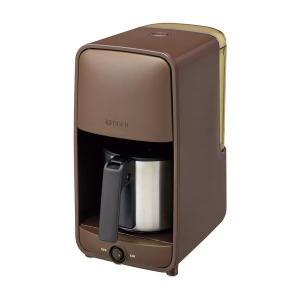 コーヒーメーカー | タイガー魔法瓶 コーヒーメーカー ステンレスサーバータイプ 1〜6杯用 ダークブラウン ADCA060TD|arinkurin