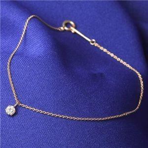 ブレスレット | K18PG ダイヤモンドブレスレット|arinkurin
