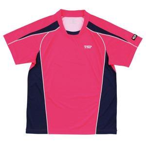 卓球用品 | ヤマト卓球 デファンスシャツ 30265 ピンク L (卓球用品卓球シャツユニフォームゲームシャツTSP)|arinkurin
