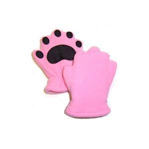 手袋   ベアハンズ フリースミトン 乳児用ライトピンク BEMTLPI arinkurin