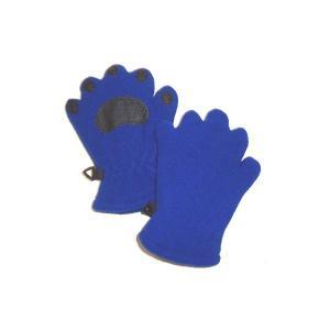 手袋   ベアハンズ フリースミトン 乳児用コバルトブルー BEMTCBI arinkurin