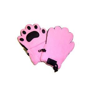 手袋   ベアハンズ フリースミトン 幼児用ライトピンク BEMTLPT arinkurin