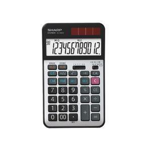 電卓 | シャープ SHARP 実務電卓 12桁 ナイスサイズタイプ ELN942X 1台|arinkurin