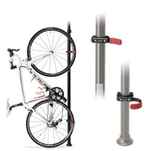 ポールスタンドオプション  バイクタワー・バイクピット用追加アタッチメントで垂直にバイクを立てられま...