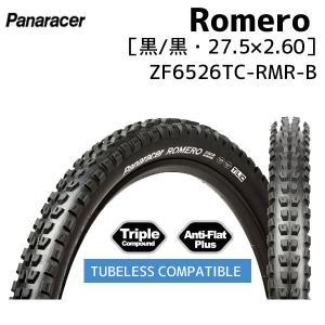 パナレーサー Romero 27.5×2.60 ブラック ZF6526TC-RMR-B TLC 自転車用|aris-c