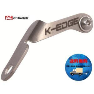 K-EDGE ケーエッジ ナンバーホルダー  シルバー K13-060 送料無料 沖縄・離島は追加送料かかります|aris-c