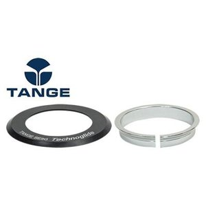 TANGE タンゲ ISSL8BKトップキャップ+コンプレッション リング セット 自転車 ヘッドセット パーツ|aris-c