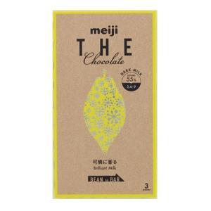 明治  ザ・チョコレート可憐に香るブリリアントミルク(3枚  50g×10個