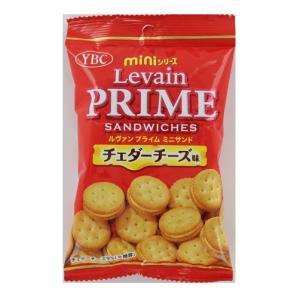 ヤマザキビスケット ルヴァンプライムミニサンド チェダーチーズ味 50g×10袋の商品画像|ナビ