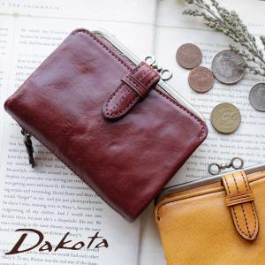 ダコタ 2折財布 がま口小銭入れ付 Dakota ダコタ クラプトン 0035101(0031501)|arista