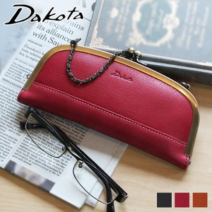 Dakota ダコタ ラルゴ 眼鏡ケース がま口デザイン 牛革 本革 0035884|arista