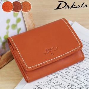 2折財布 二つ折り財布 コンパクト Dakota ダコタ プレッソ コンパクト 牛革 本革 0036021|arista
