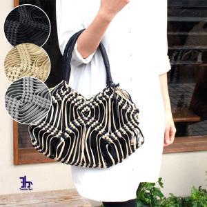 かごバッグ トートバッグ Trenta Sei(トレンタセイ)ロウ引き平ヒモ 編み込み 012-0348|arista