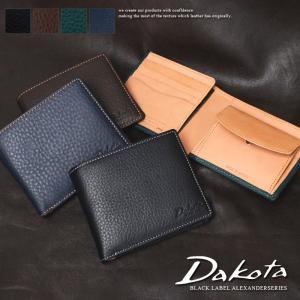 ダコタ 2折財布 Dakota BLACK LABEL ダコタ ブラックレーベル アレキサンダー 0625400|arista