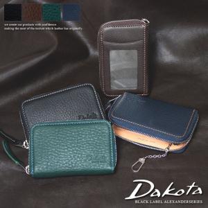 ダコタ パスケース キーリング付き小銭入れ Dakota BLACK LABEL ダコタ ブラックレーベル アレキサンダー 0625405|arista