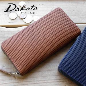 ダコタ ラウンドファスナー長財布 イタリア製牛革 Dakota BLACK LABEL ブラックレーベル レティコロ 0626103|arista
