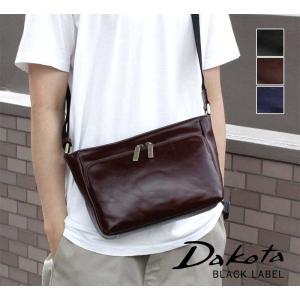 ショルダーバッグ 牛革 本革 Dakota BLACK LABEL ダコタブラックレーベル カワシ 1620160|arista