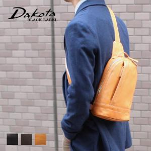 縦型ボディバッグ 牛革 本革 日本製 Dakota BLACK LABEL ダコタブラックレーベル イッシュ 1620392|arista