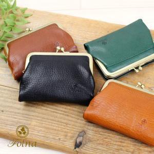 がま口 2折財布 ヌメオイルシュリンク Folna フォルナ 2993666|arista