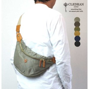 ボディバッグ CLEDRAN(クレドラン)ROTA(ロタ)ナイロンキルティング CL2146|arista