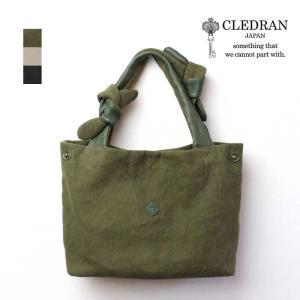 CLEDRAN(クレドラン)MUA(ムア) ウォッシュドコットンリネン×牛革 トートバッグ CL2761【A4】【日本製】|arista