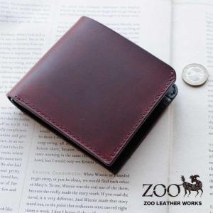 2折財布 本革 ZOO ズー バジャー ビルフォード3 ラティーゴレザー 日本製 ZBF-005|arista