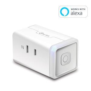 【Amazon Alexa認定取得製品】 TP-Link WiFi スマートプラグ 遠隔操作 直差し...