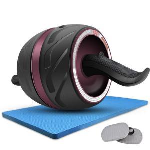 DEEDRO 腹筋ローラー アプローラー エクササイズホイール スリムトレーナー 腹筋レトーニングに...