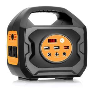 Aeiusny ポータブル電源 S200 家庭用蓄電池 軽量(193Wh/55000mAh/200W...