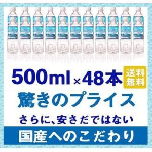 国産天然水 きらめきの水 (500ml) 24本×2ケース【...