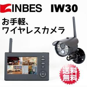 INBES(インベス) ワイヤレスカメラシステム カメラ&モニターセット IW30|arkham